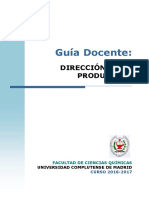 GIQ_Guia Docente Direccion de La Produccion_2016_Sin Profesor
