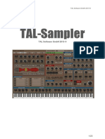 TAL Sampler UserManual