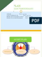 Audit Plan (Perencanaan Pemeriksaan)