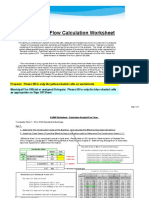 Fire Flow Calculator Worksheet 2011