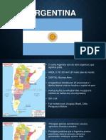 Trabalho de Cultura Argentina