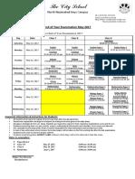 final date sheet eoy examinations 2017 class 7 to 9