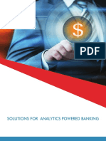 SOLUTIONS FOR ANALYTICS POWERED BANKING