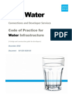 Code of Practice for Water Supply