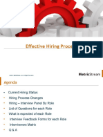 Effective Hiring Process