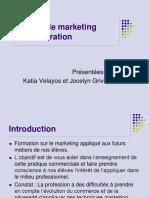 Thème 1 Les Notions de Marketing en Restauration