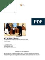 Revista Piauí - Meu Presidente Era Preto