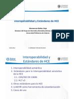 2012 Interoperabilidad y Estandares de Hce Montse Robles