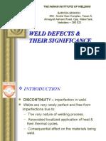 9-Weld Defects - Vishwakarma