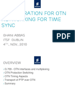 05-Considerations for OTN Networking for Time Sync