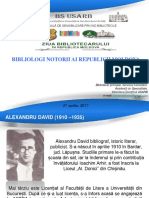 Staver, Mihaela. Bibliologi notorii ai Republicii Moldova