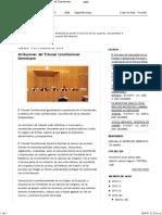 Atribuciones Del Tribunal Constitucional Dominicano