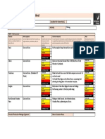 risk assessment for arc theatre