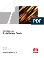 RRU3908 Installation Guide