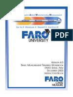 08m13e02 - Basic Measurement Training Workbook for the Instructor FARO