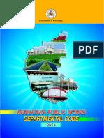 Karnataka Public Works Revised Departmental Code 2014