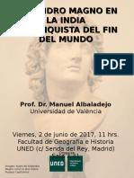 Cartel Manolo - Alejandro Magno