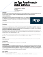 Keflex Braided Hose Installation Recommendations - Bpump-con-Ins