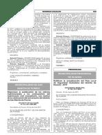 Ratifican la actualización del Plan Local de Seguridad Ciudadana del distrito de Huacho - 2017