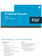ALGN Q117 Financial Slides 042717F