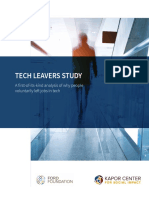 TECH LEAVERS STUDY