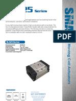 SMAC SLA25 Series Linear Slide Actuator Brochure