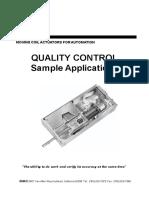SMAC QC Sample Applications