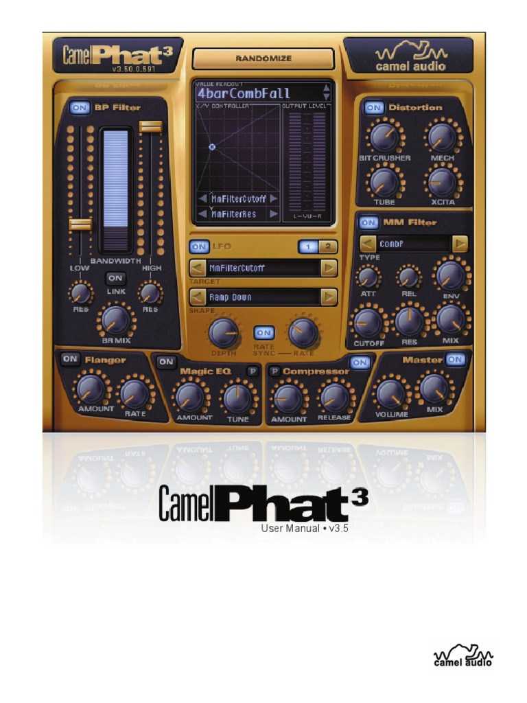 Camelphat 3 Synthesizer Equalization Audio Dynamic Compressor Self Powered Circuit Design