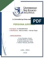 Trabajo Final (Persona Jurídica)