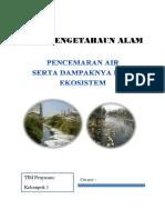 Handout Pencemaran Air