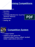 76398 Organising Competitions