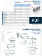 Tecnotion UF Series Specsheet