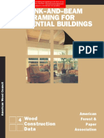 WCD 4 - Plank-And-Beam Framing for Residential Buildings