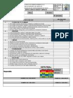 SIG-R-044 Formato Inspección de Orden y Limpieza 5S