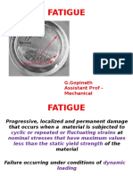 Fatigue Test Procedure