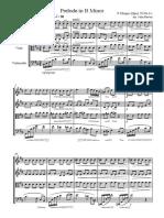 Prelude in B Minor