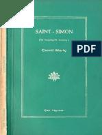 Cemil Meriç - Saint Simon İlk Sosyolog İlk Sosyalist - Çan Yay-1967.pdf