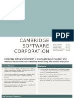 Team 6_Pricing Assignment 2 - Cambridge Software Corporation v 1.0.pptx