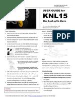 UserGuideOfKovix (KNL15)