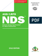 NDS for Wood Construction, 2012 Edition