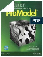 Simulación y Análisis de Sistemas Con PROMODEL Eduardo García Dunna 2013 2da Edición