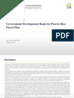Plan Fiscal - Banco Gubernamental de Fomento
