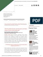 Teknik pelaksanaan pembuatan pondasi tiang strauss pile yang baik _ Jasa Strauss Pile Pondasi 085289450682.pdf