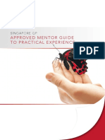 Approved Mentor Guide to Practical Experience