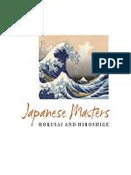 Japanese Masters-Hokusai and Hiroshige