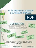 El Futuro de La Gestion Del Talento Humano