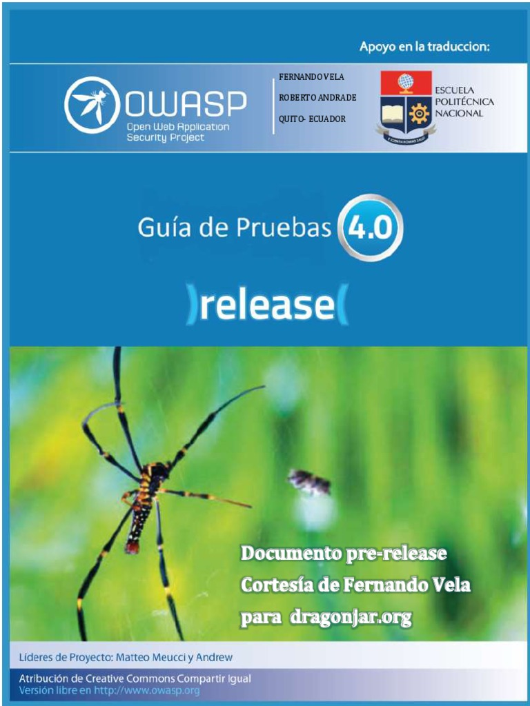 Guia de pruebas owasp 40 espaolpdf malvernweather Image collections