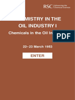 CHemistry in the Oil Industry