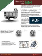 Catálogo Malvtec Acoplamento de Engrenagens Linha GM