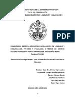 Tesis Pedagogía en Lenguaje